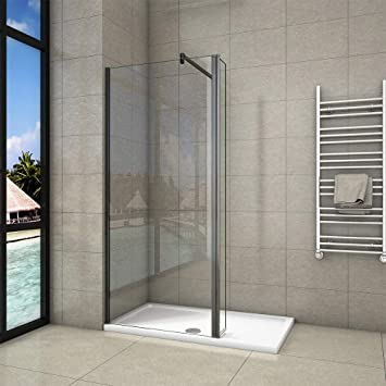 Aica EasyClean - Panel de cristal para mampara de ducha (300 mm ...