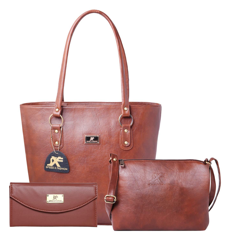 Fashion Women's Handbag & Sling Bag Combo