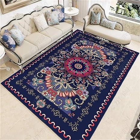 Amazon.com: Floor Mat Vintage Polyester Sofa Cushion Yoga ...