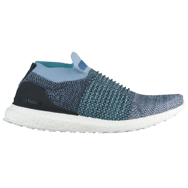 adidas Originals Men's Ultraboost Laceless B0785J7B1C 7 D(M) US|Raw Grey/Carbon/Blue Spirit