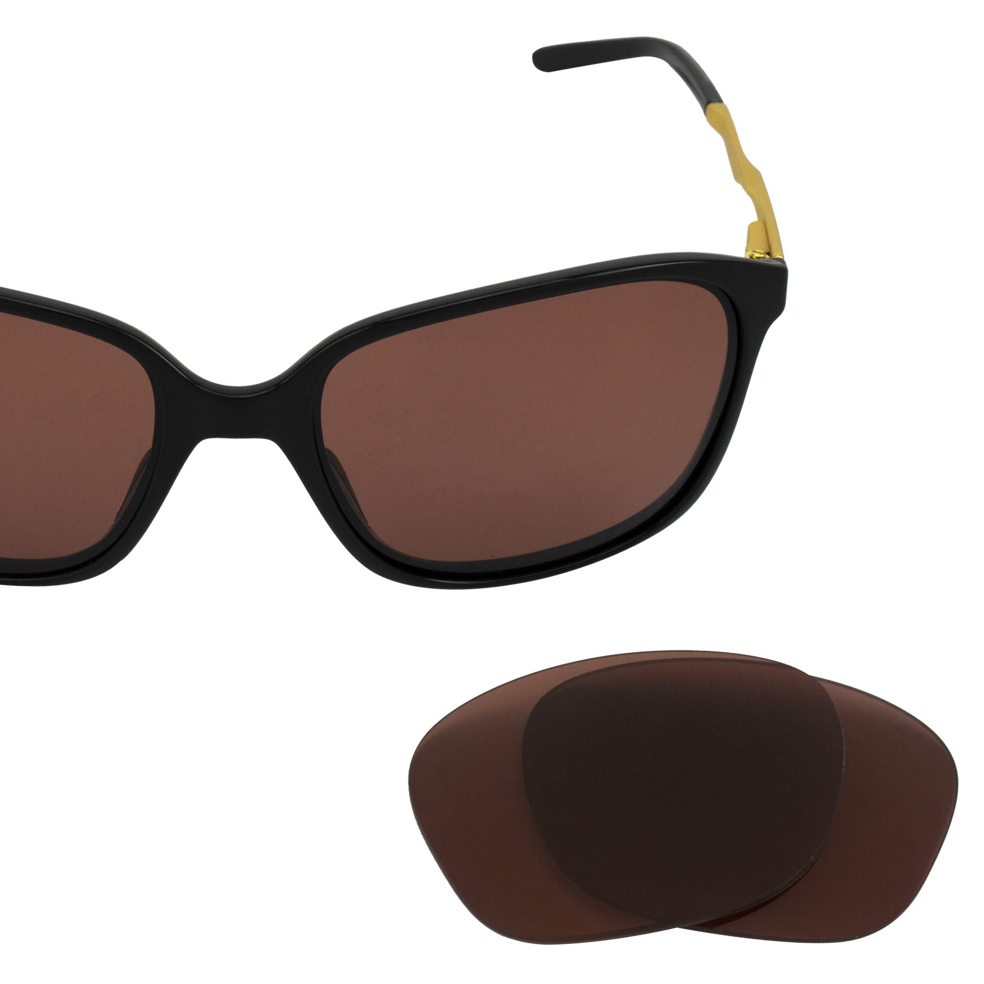 LenzFlip Replacement Sunglass Lenses for Oakley Womens GAME CHANGER - Multiple Color Options (Rose Polarized)