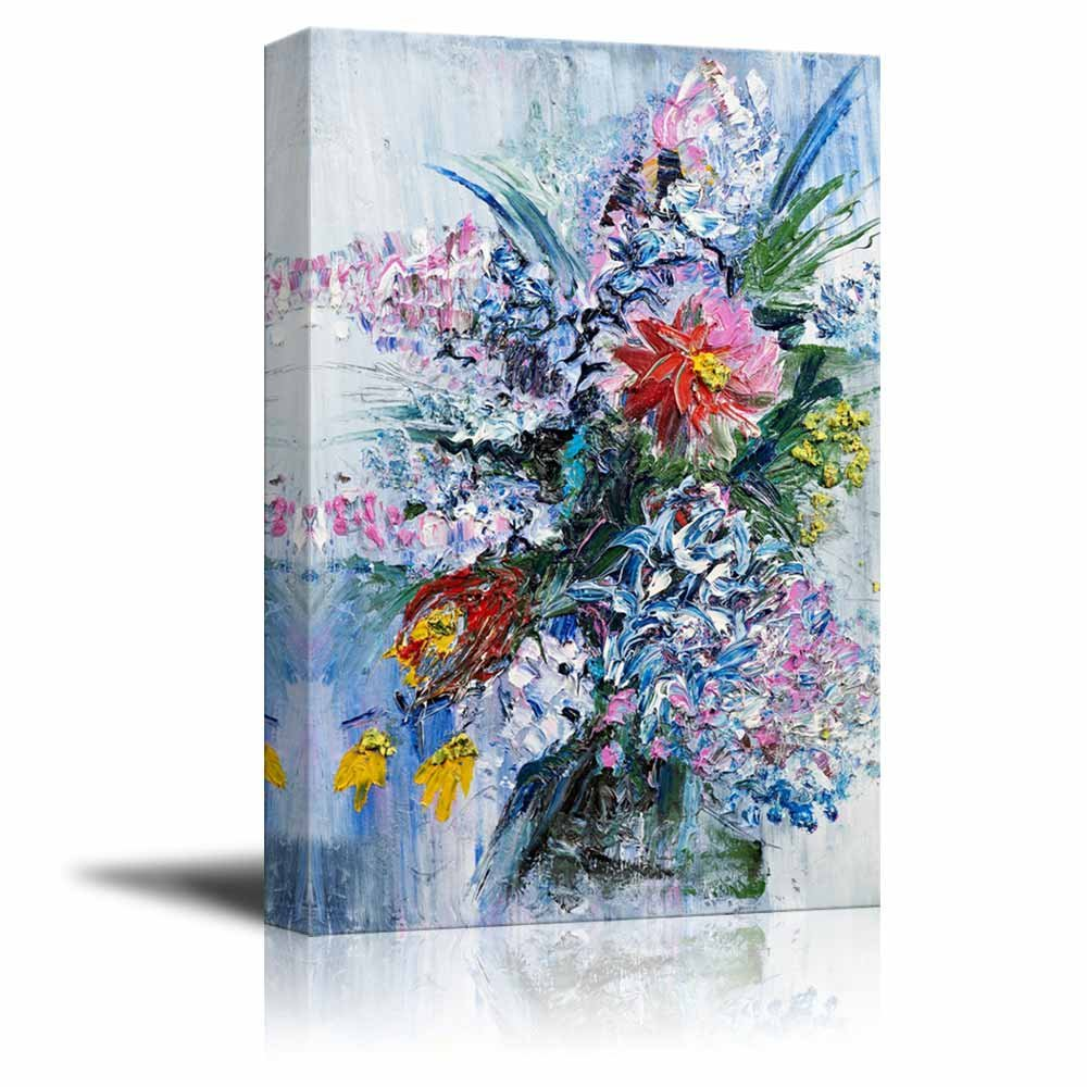 Bouquet of spring flowers in oil painting style wall decor ation bouquet of spring flowers in oil painting style wall decor ation mightylinksfo