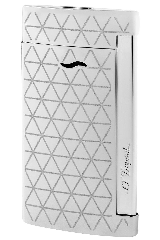 S.T. Dupont chrome firehead slim 7 lighter