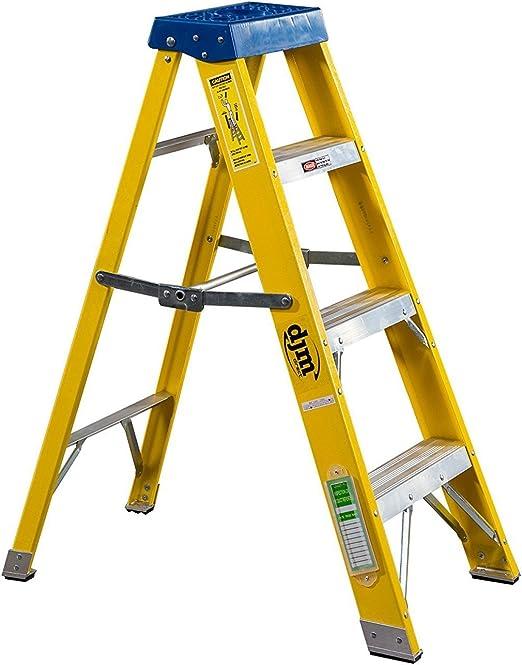 DJM Direct 4 escalera Electricistas resistente EN131 escalera de ...