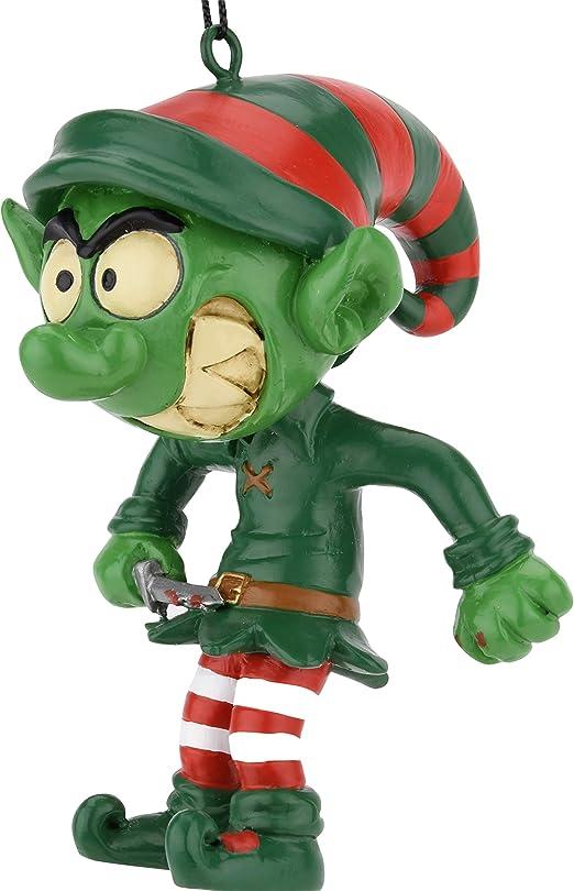 Amazon.com: Árbol Buddees Evil Elf con Bloody Knife ...