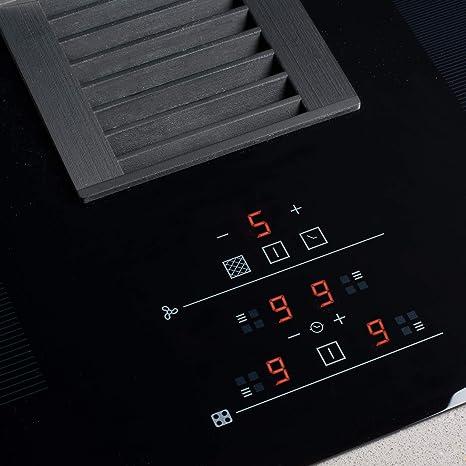 CATA AS750 Modelo AS 750 | Vitroceramica 4 Fuegos 9 Niveles ...