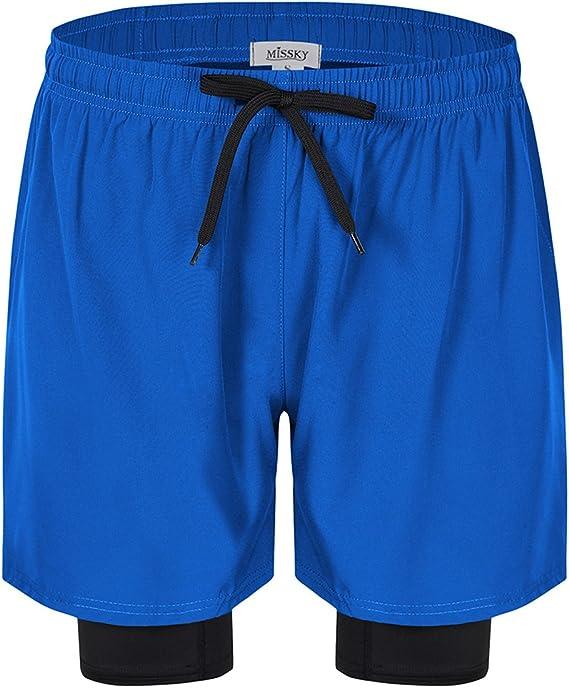 TALLA 54. Clearlove - Pantalones cortos deportivos para hombre