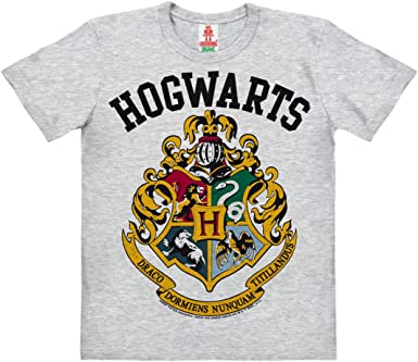 Logoshirt Harry Potter - Escudo - Hogwarts Logo Camiseta 100 ...
