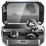 【Bluetooth イヤホン 120時間連続駆動】Bluetooth5.0 完全ワイヤレス イヤホン IPX7防水  Hi-Fi高音質 ノイズキャンセリング対応 左右分離型 Siri対応 音量調整 3500mAh ブルートゥース イヤホン ワイヤレス スポーツイヤホン