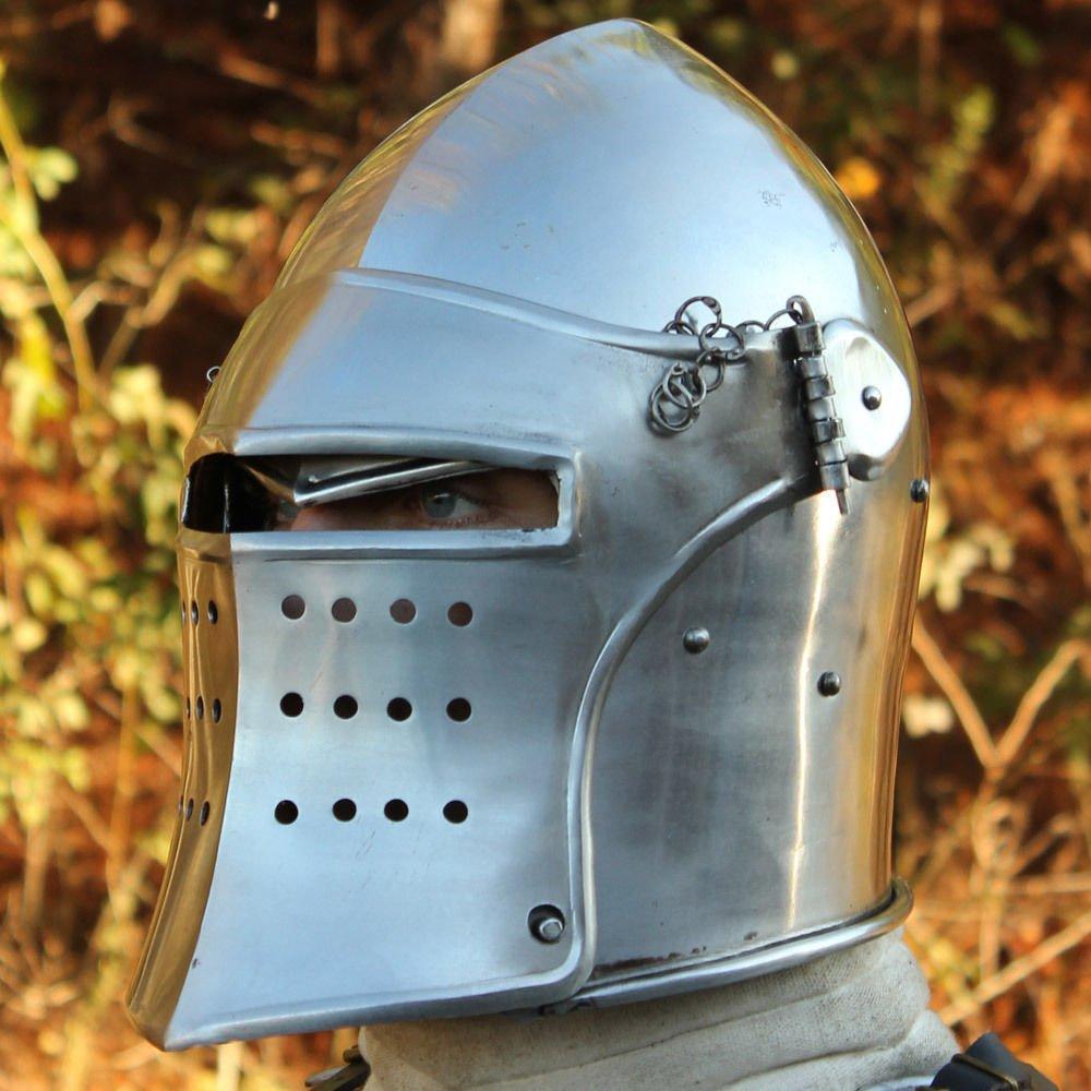 Nuevo Super Barbuta Medieval casco armadura casco romano caballero cascos