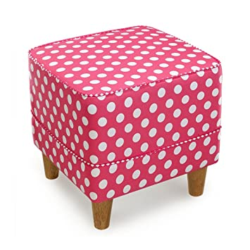 JUN-Footstools Creative Stool | Foot Stool Cube Pouffe Chair with 4 ...
