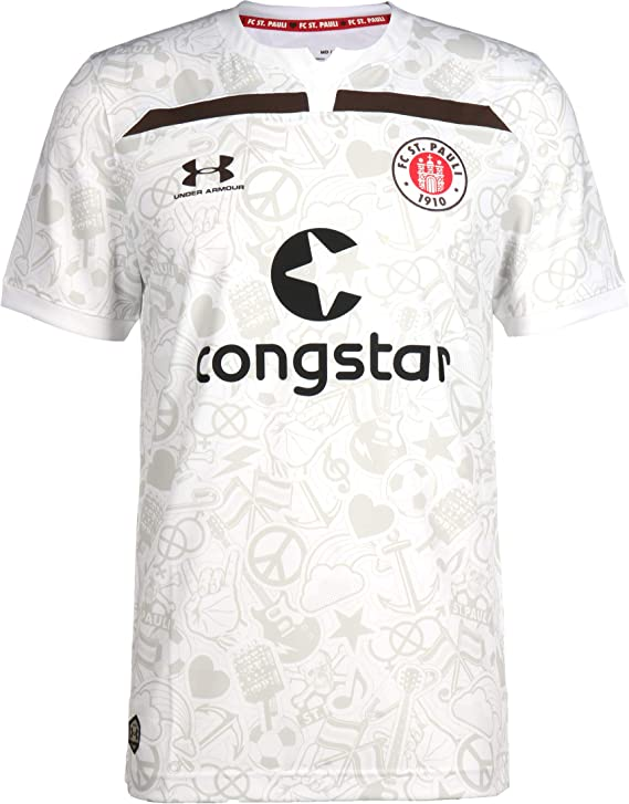 Under Armour FC St. Pauli 2019/2020 - Camiseta deportiva para ...