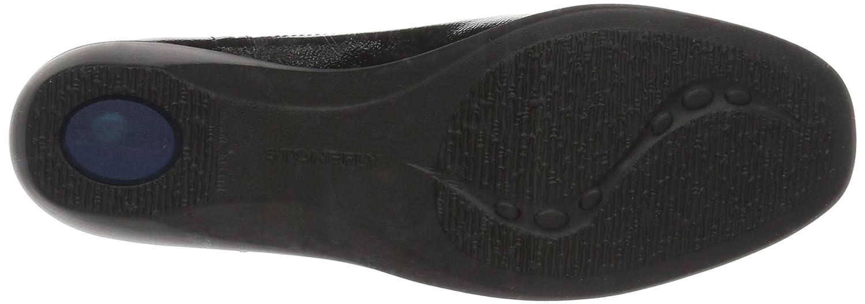 Stonefly Damen Licia 24 Slipper Schwarz Schwarz Slipper (Nero-schwarz 000) 123794