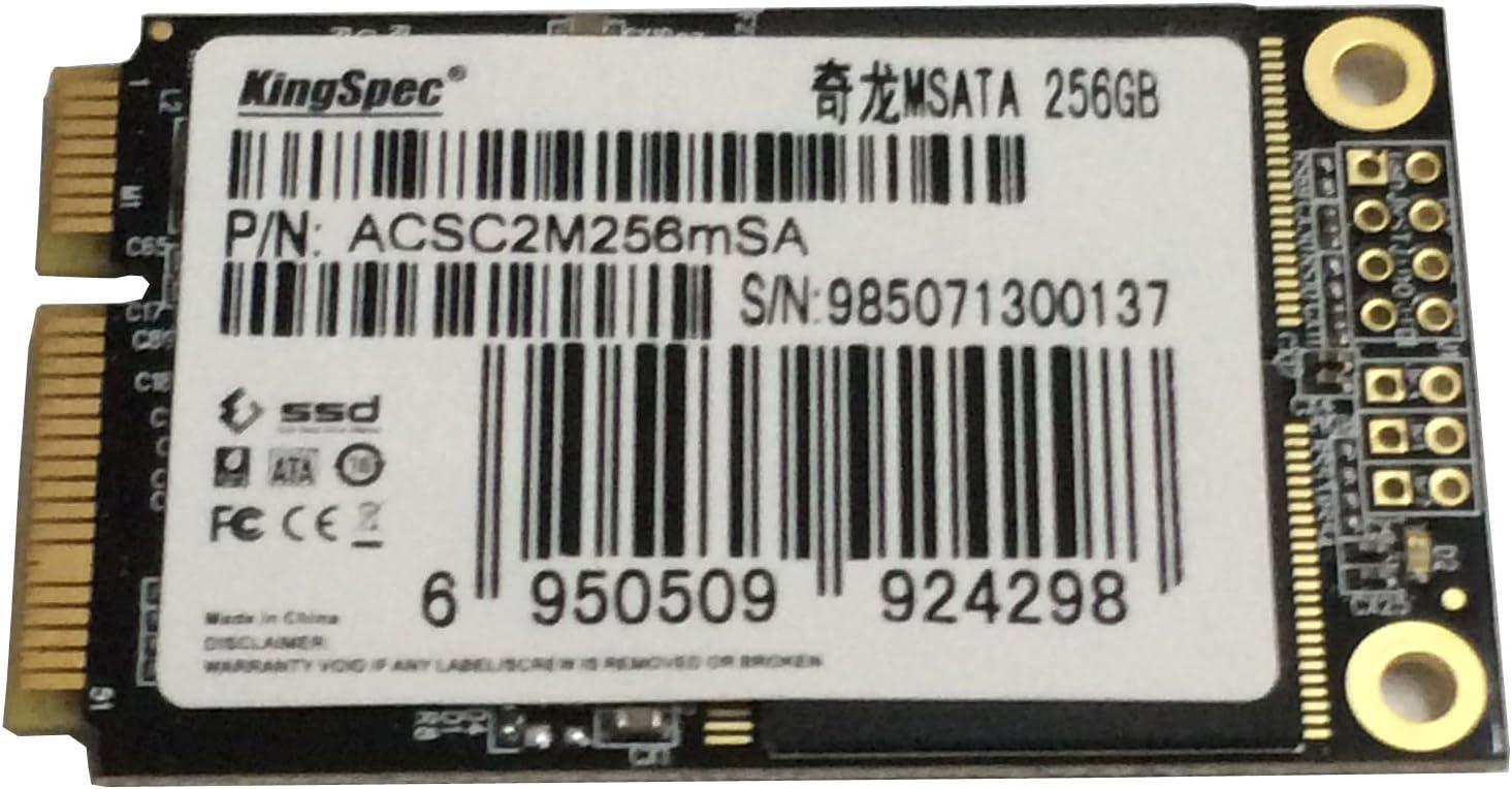 Disco Duro SSD mSATA Mini PCIE de 256 GB para HP Acer ASUS Lenovo ...