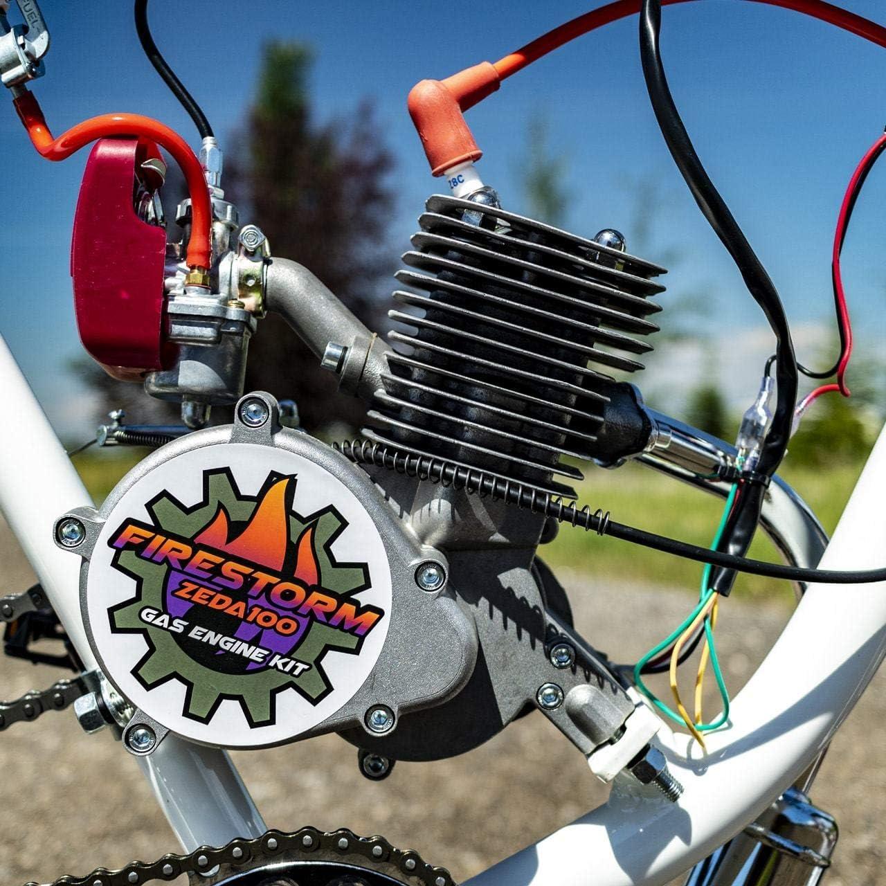Niome 100cc Engine Motor Cylinder Piston Pin Set For Motorized Bicycle Bike Motor