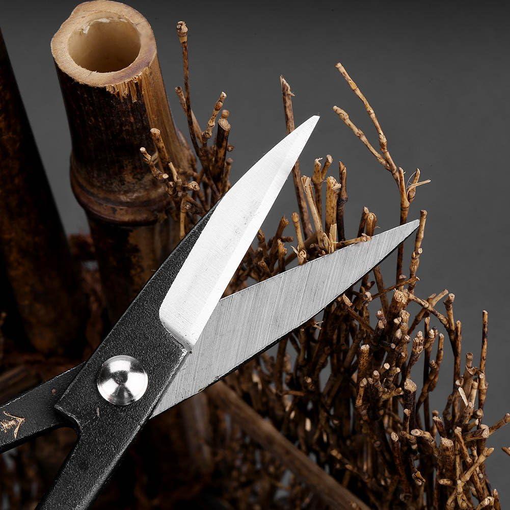 190mm Bonsai Cortar con Tijeras de Podar de Acero CompuestoBrote y Hojas Recortadora Erramientas de Jard/ín
