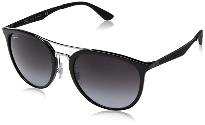 RAY-BAN 4285 Gafas de sol, Black, 55 para Hombre: Amazon.es ...