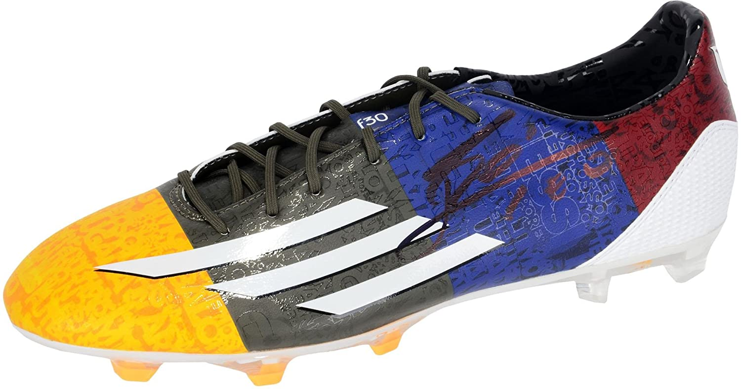 4f8180b1df0 Lionel Messi Barcelona Autographed Adidas White Soccer Cleat - Fanatics  Authentic Certified - Autographed Soccer Cleats at Amazon s Sports  Collectibles ...