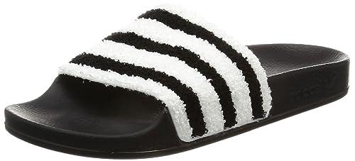 brand new 2bae2 951f8 adidas Adilette, Chaussures de Plage   Piscine homme - Noir (Core Black core