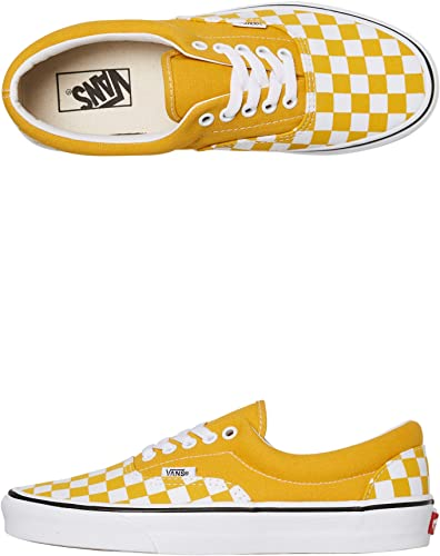 Vans Chaussures Era (Checkerboard) Yolk Jaune 35: Amazon.fr ...