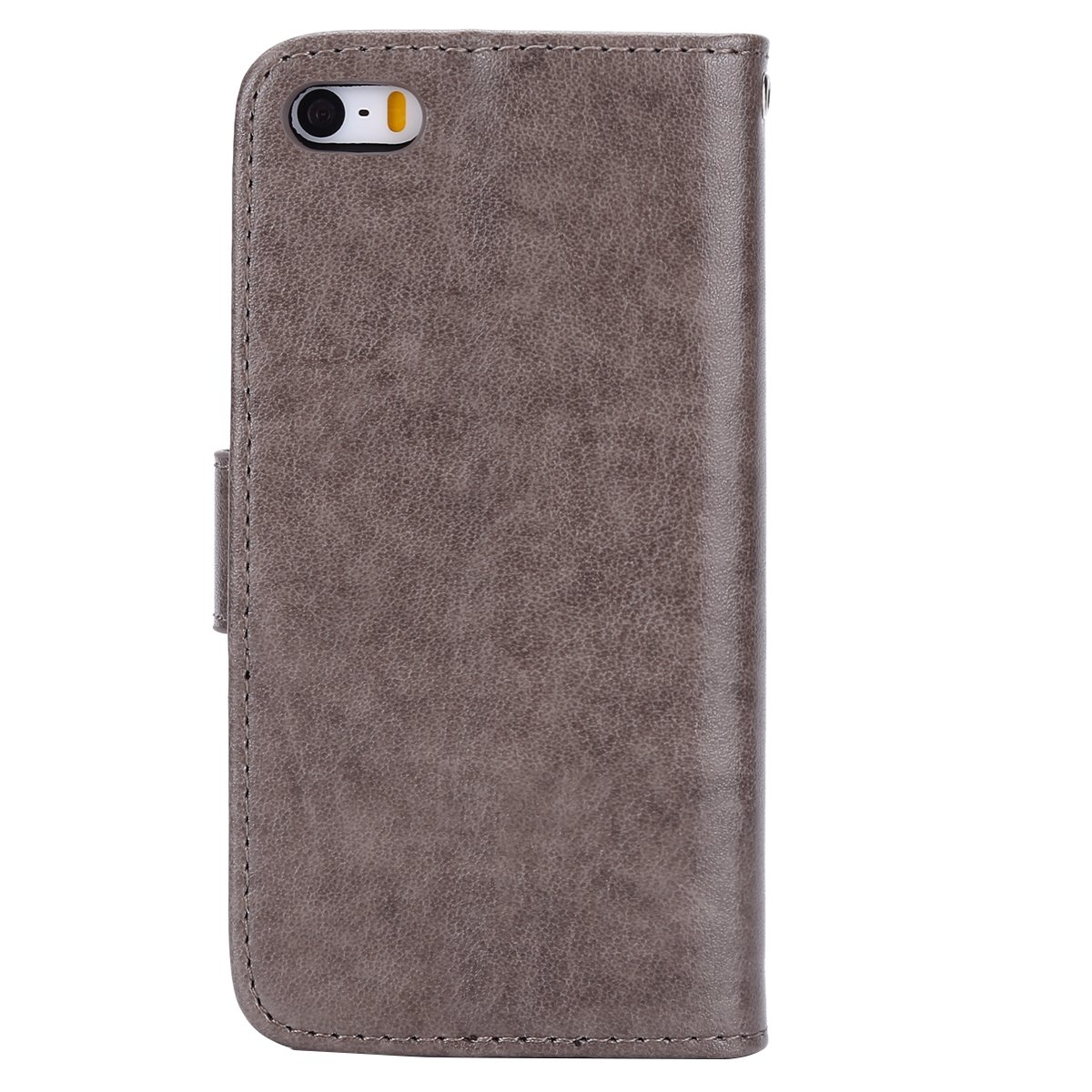 Felfy Compatible avec iPhone Se Housse,Coque iPhone 5S Pochette Portefeuille Housse en Cuir Coque /à Rabat Clapet Etui 3D Brillante Hibou Glitter Paillett/é Strass Flip Wallet Case,Vert