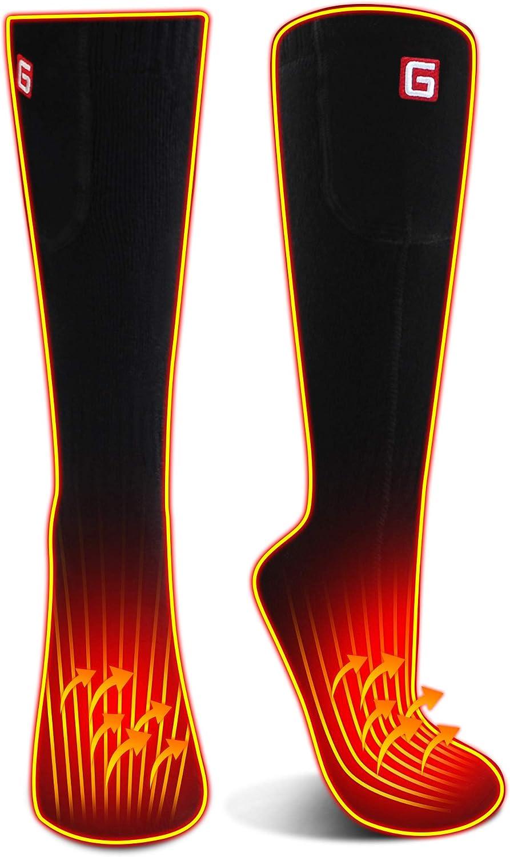 Details about  /Men Women Battery Socks Rechargeable Electric Socks,Uni Battery Powered Heat Ins