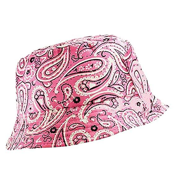 MA ONLINE Mens Summer Travel Flat Bucket Hat Womens Fishing Outdoor Beach  Festival Sun Cap Bandana a2ccf8ca7b8