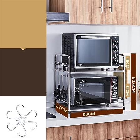 L&Y Muebles de Cocina Cocina de Acero Inoxidable Horno de ...