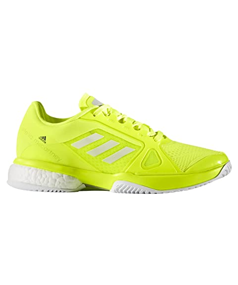 adidas Stella McCartney Barricade Boost 2017Zapatillas de tenis para mujer, mujer, amarillo neón, blanco, 6 UK - 39.1/3 EU: Amazon.es: Zapatos y ...