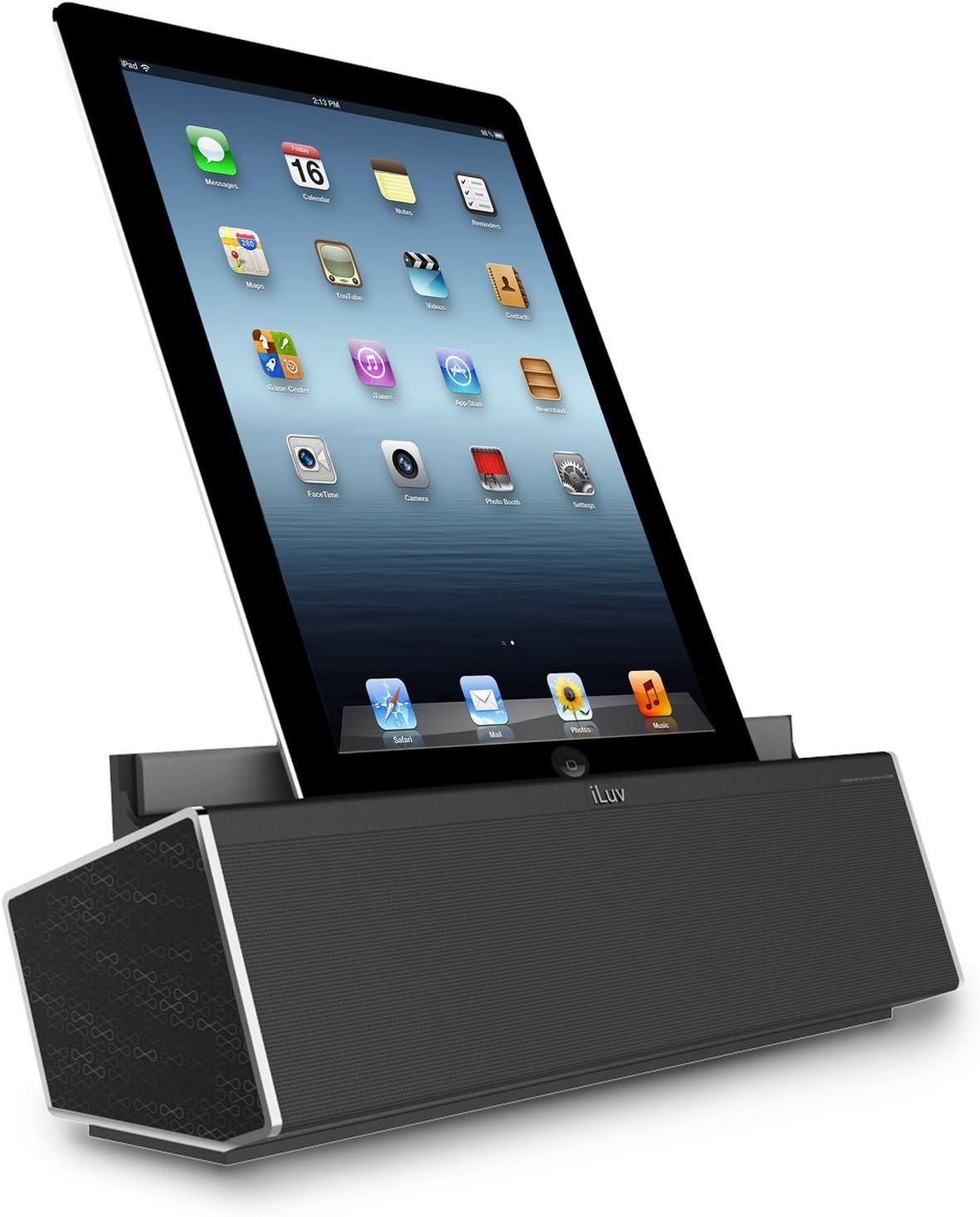 iluv Mobeats HD - Altavoz NFC, color negro