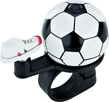 Prophete - Timbre para Bicicleta, diseño de balón de fútbol, Color ...