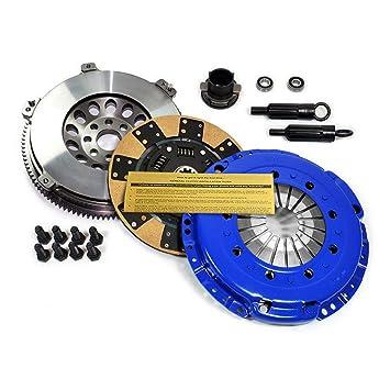 EFT Kevlar Kit de embrague + cromo-molibdeno volante BMW 325 328 525 528 M3 Z3 E34 E36 E39: Amazon.es: Coche y moto
