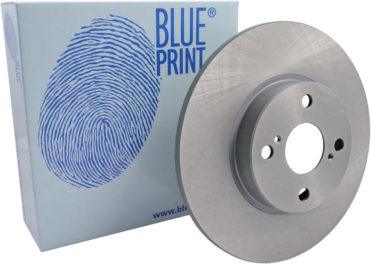of Holes 4 rear Blue Print ADT343123 Brake Disc Set full 2 Brake Disc No