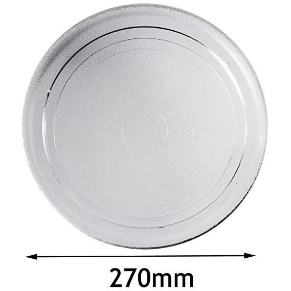 Spares2go 270 mm suave soporte de plato giratorio de cristal para ...