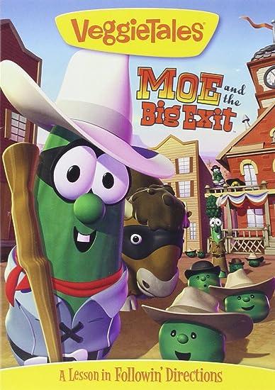 Amazon.com: VeggieTales: Moe and the Big Exit: Big Idea ...
