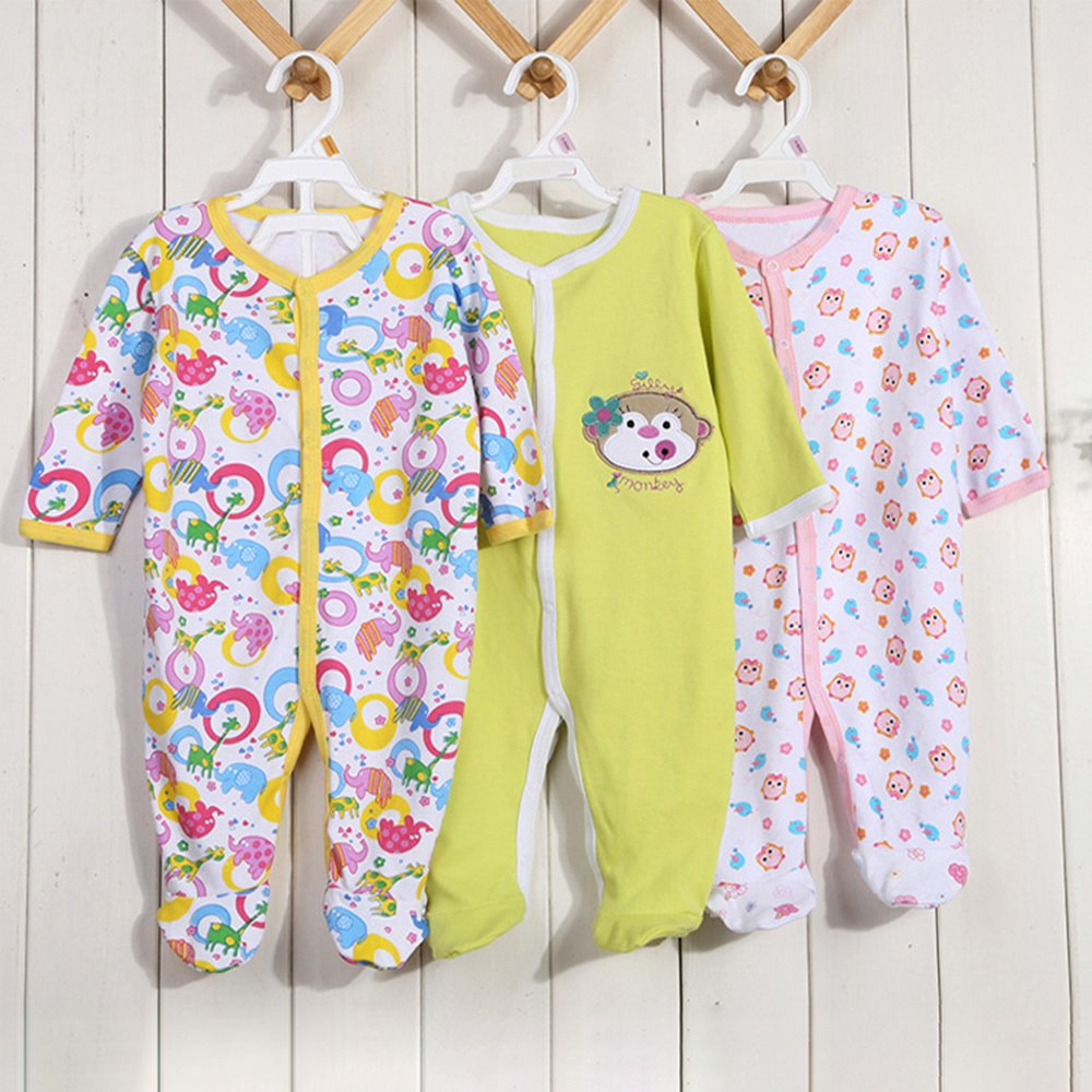 3X Infant Baby Kids Jumpsuit Cotton Romper KINDOYO Baby Clothing