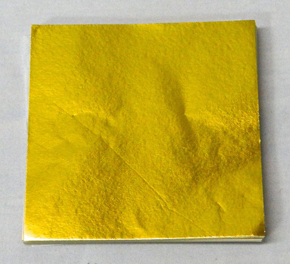 500 3'' X 3'' Gold Confectionery Foil Wrappers Candy Wrappers Candy Making Supplies