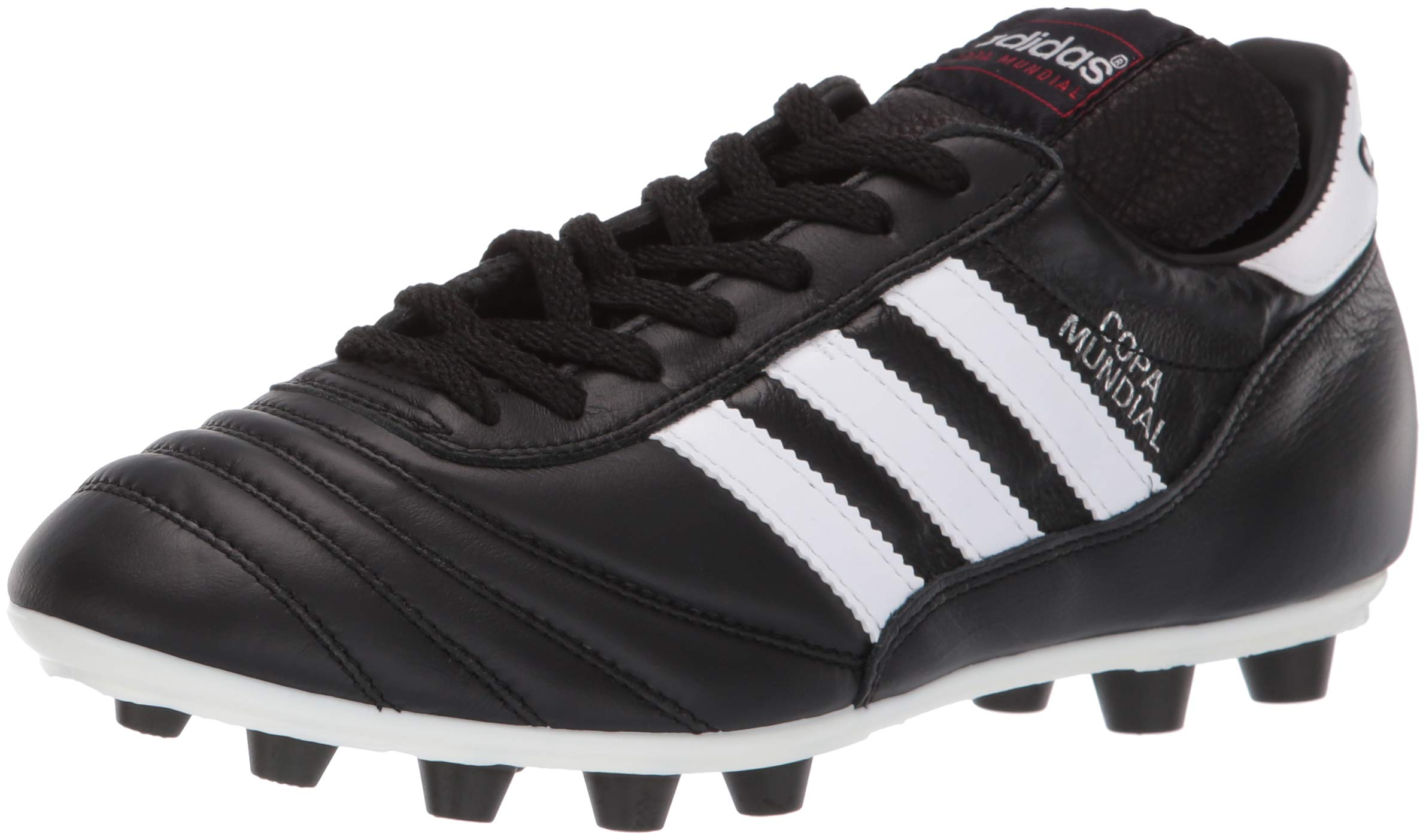 6445fbb73 Galleon - Adidas Copa Mundial FG Firm Ground Mens Soccer Boot Black White -  US 9.5