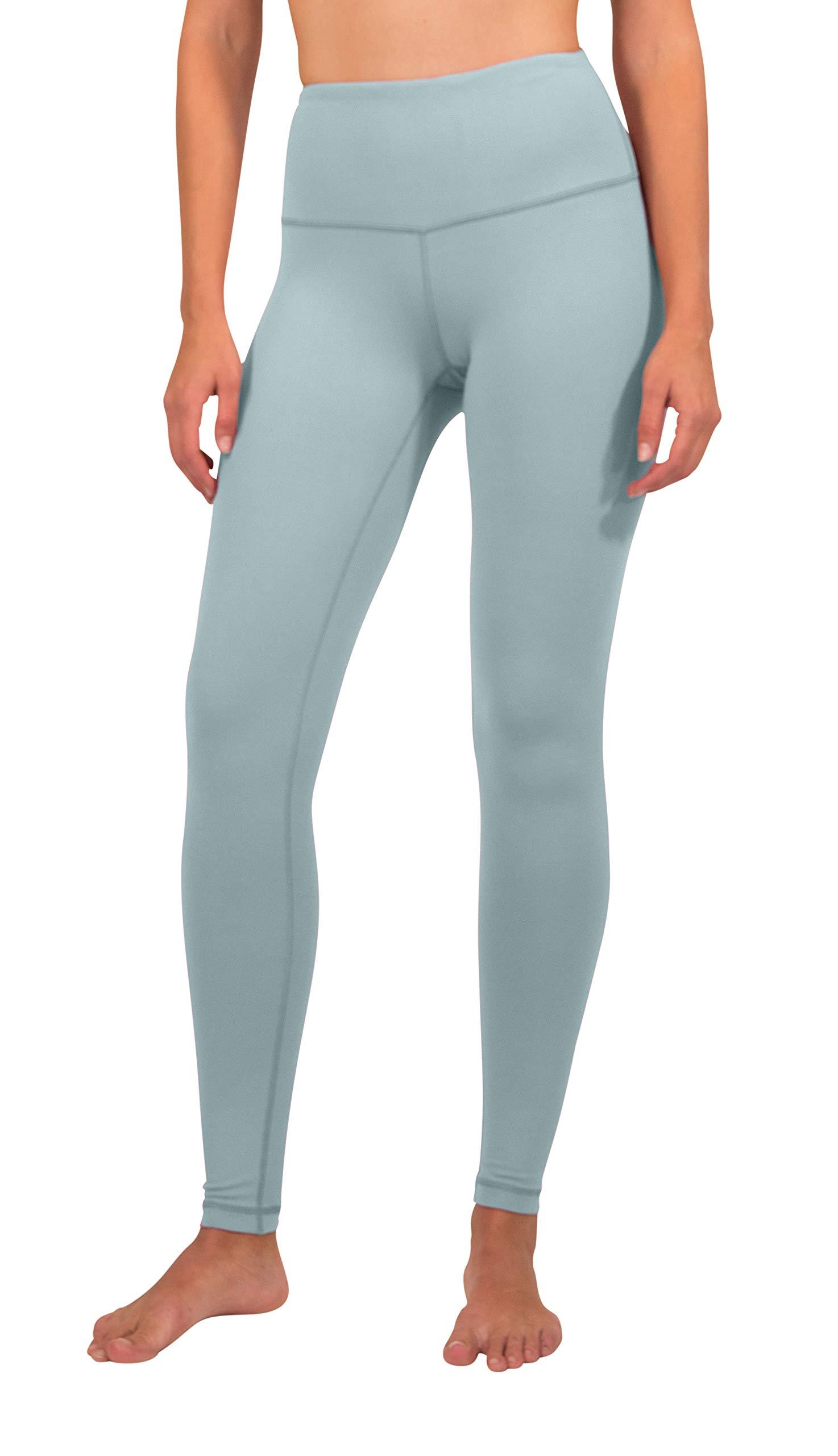 90 Degree By Reflex High Waist Power Flex Legging - Tummy Control - Shadow Blue - XS by 90 Degree By Reflex