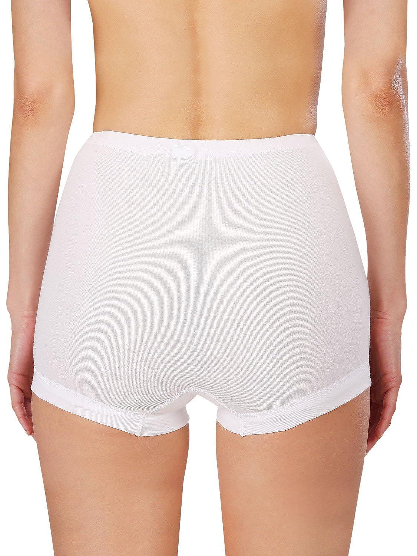 Naturana Pack of 4 Womens Cotton Shorts 2201