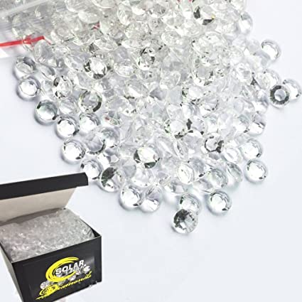 Amazon Com 800 Diamond Table Scatter Confetti 4 Carat 10mm Clear