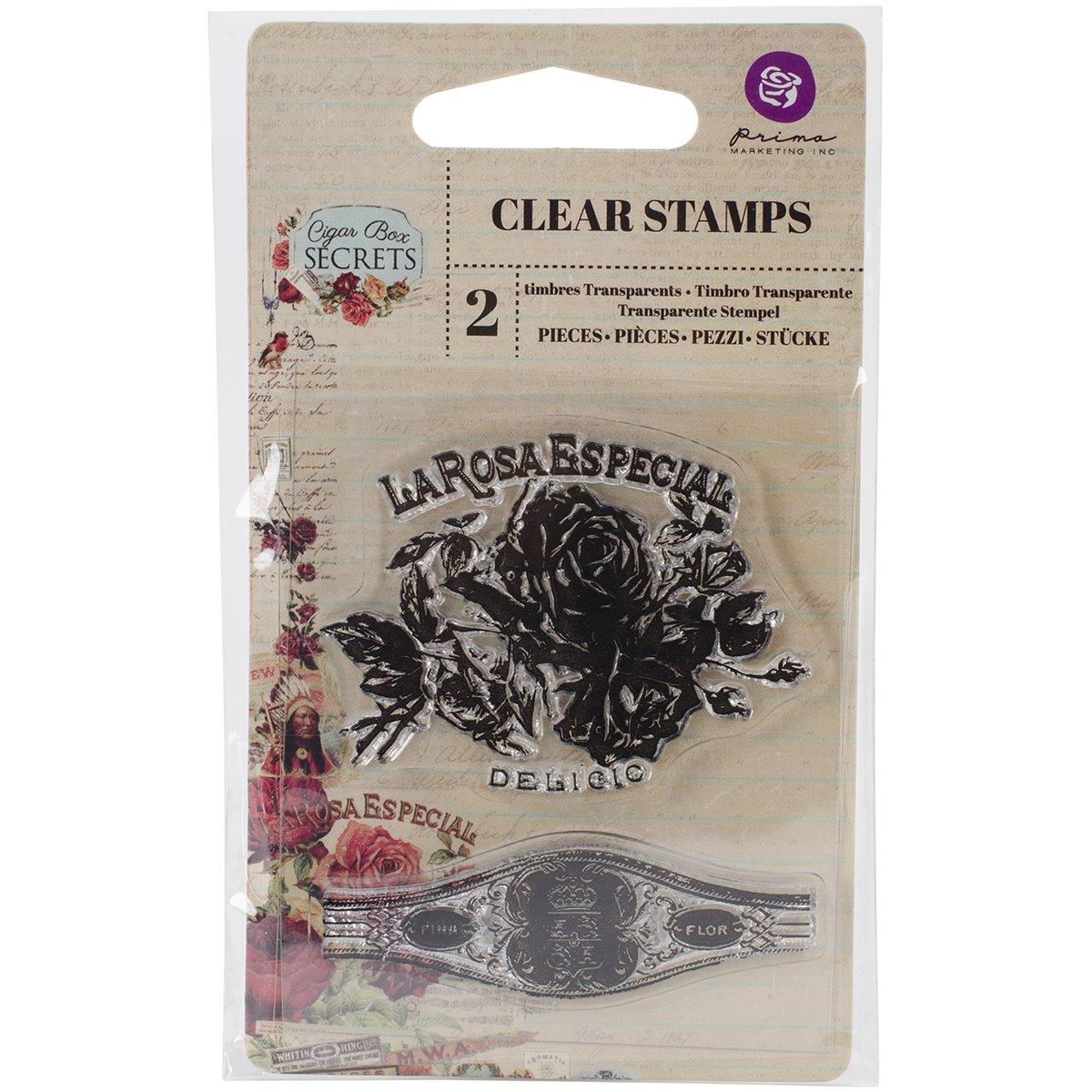 Unbekannt Prima Marketing Nr. 1 Zigarre Box Secret Briefmarken, 6,3 cm von 7,6 cm klar