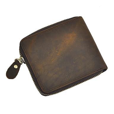 Dopobo® herren Geldbörse Portemonnaie- Geldbeutel mit Reißverschluss große  Kapazität-viel Farbel zu wählen 606ee5b883