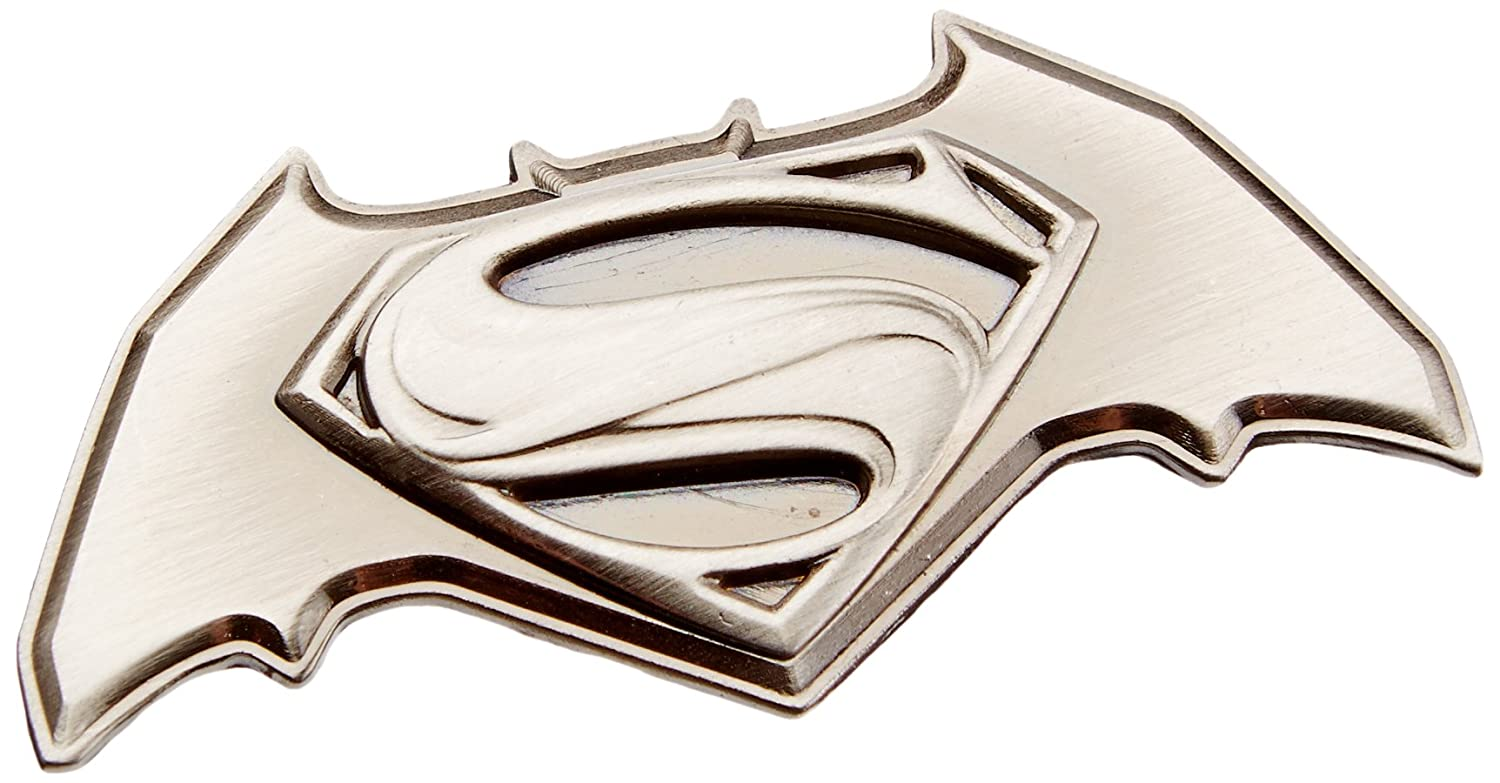 DC Comics Batman vs Superman Deluxe Pewter Lapel Pin Monogram International 45436