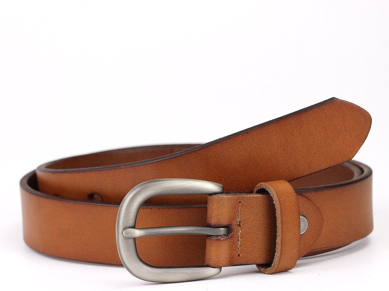 Geremen 28mm Womens Cowhide Leather Belts for Women Custom Fit M08