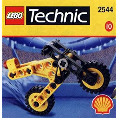 Lego SHELL Promotional Set #10: Technic Microbike Set #2544: Toys & Games
