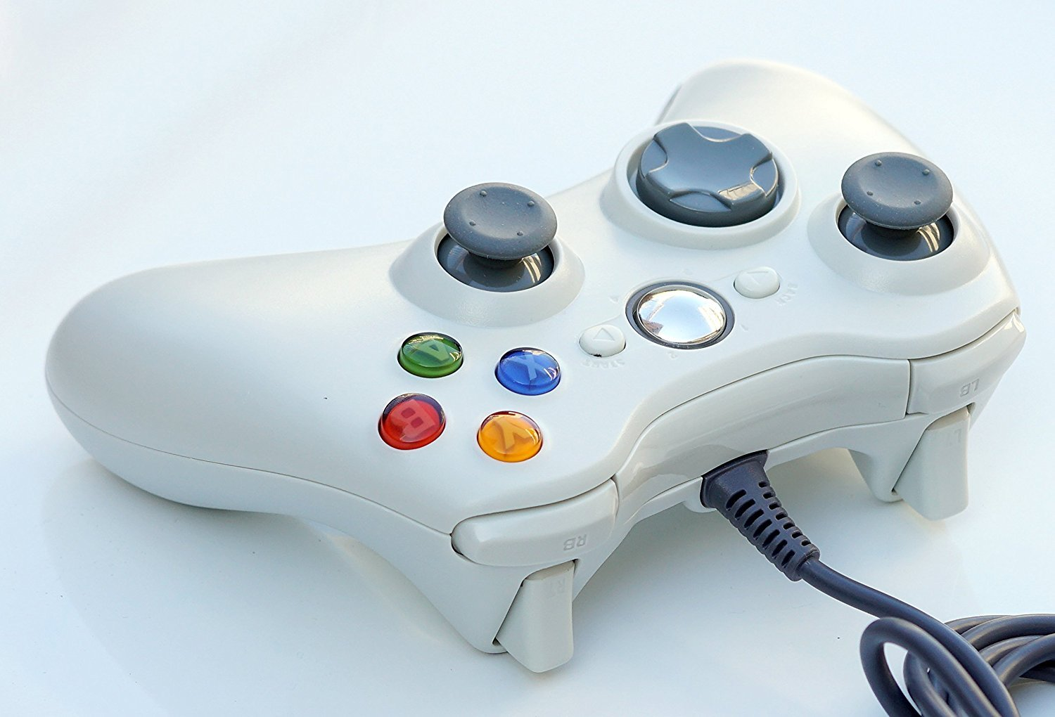 Amazon.com: PomeMall USB Wired Game Pad Controller for Xbox 360 ...