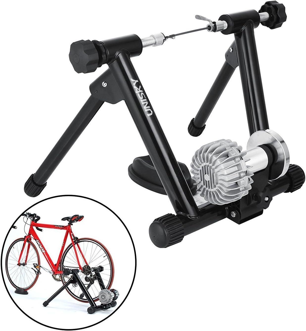 Tecmaqui Rodillos para Bicicleta 330LBS Entrenador para Bicicleta ...
