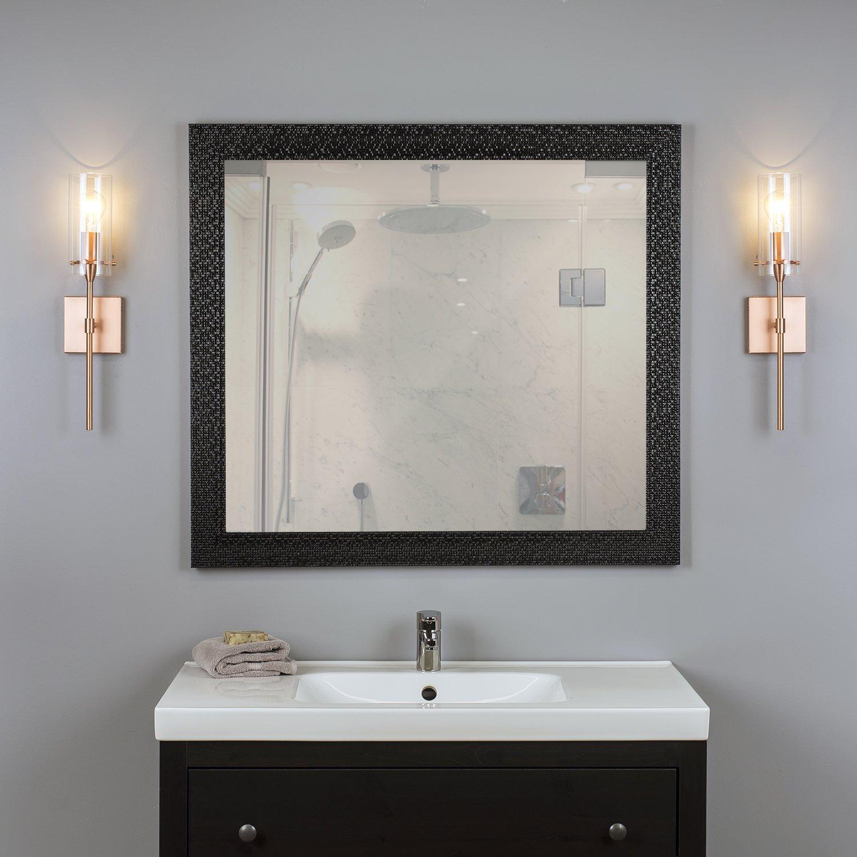 Effimero Vanity Light Fixture   Copper W/ Clear Cylinder   Linea Di Liara  LL WL31 CU     Amazon.com