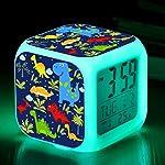 TCJJ Alarm Clock for Kids, Boy Gifts, Digital Alarm Clocks, LED